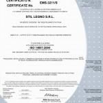 CERTIFICATO ISO 14001 2004